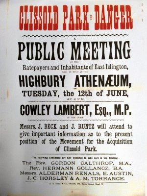 Meeting poster