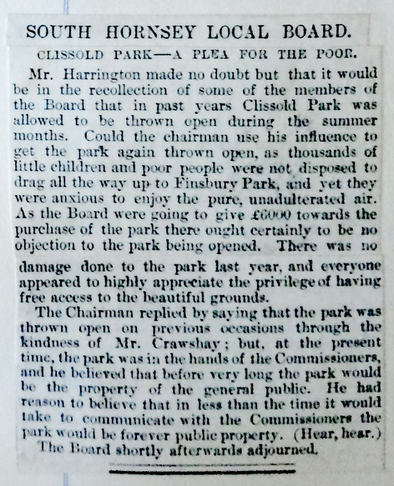 13_07_1888 NEWS CLIPPING South Hornsey Local Board.JPG
