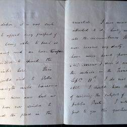 13_11_1884 LETTER George Crawshay part 2