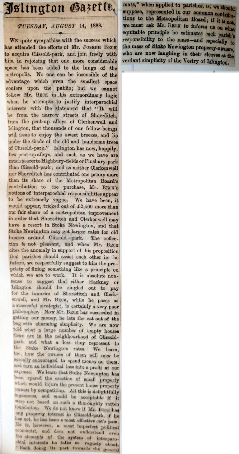 14_08_1888 NEWS CLIPPING Islington Gazette 2.JPG