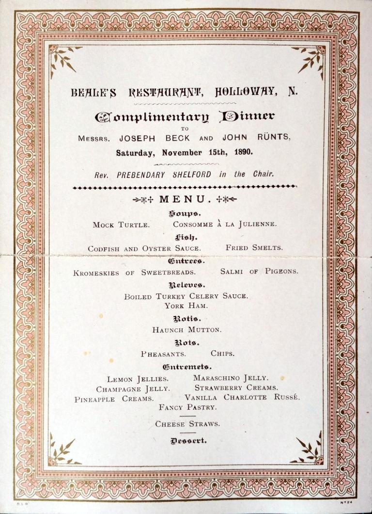 15_11_1890 Complimentary Dinner