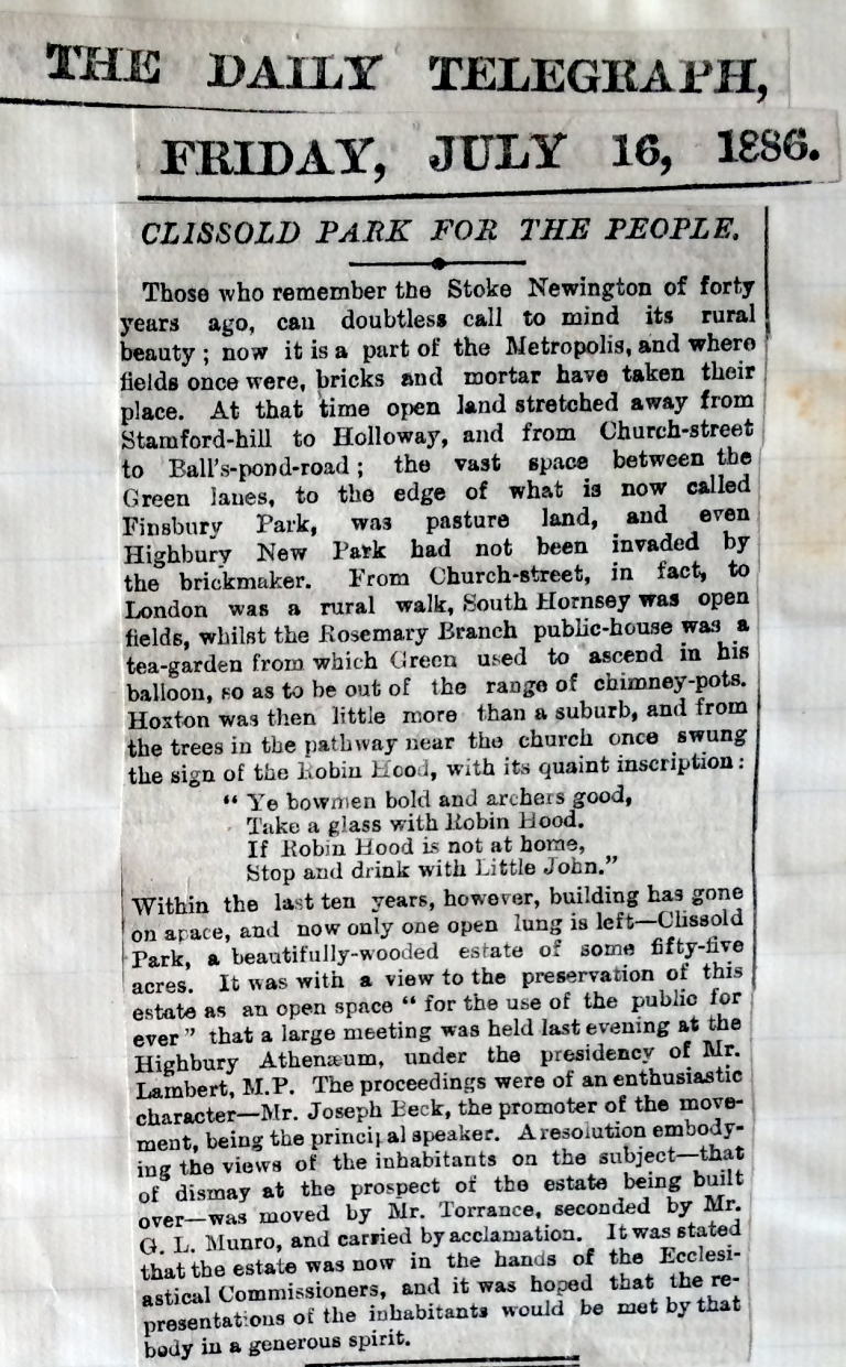 16_07_1886 NEWS CLIPPING The Daily Telegraph [CHECKED]