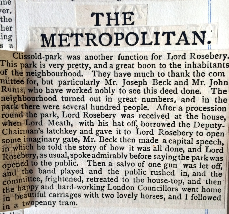 27_07_1889 NEWS CLIPPING The Metropoitan