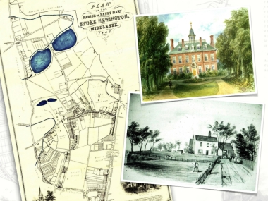 Stoke Newington was a rural picturesque village till the 1860s