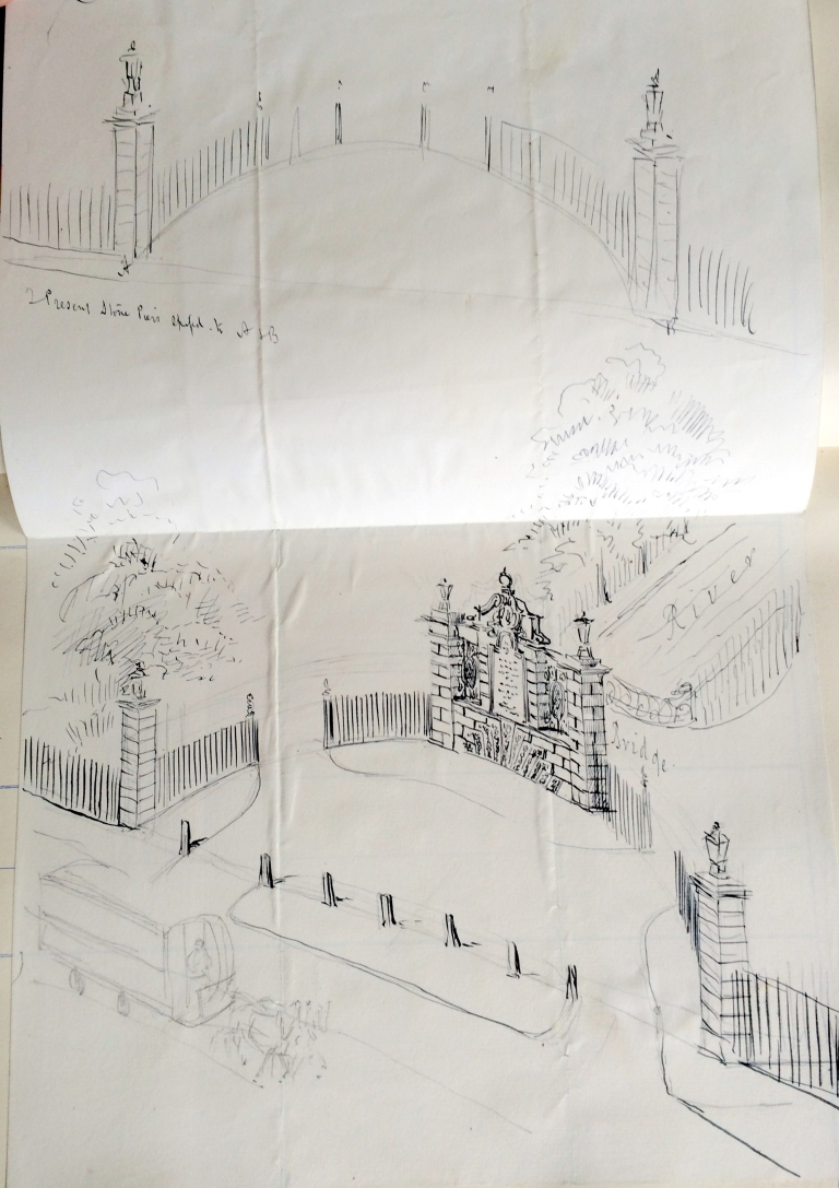 Drawing of proposed commemorative gate.JPG